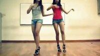 韩国小妹牛仔裤自拍热舞背景舞曲sistar《so cool》