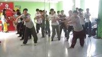 电门在泰安PS街舞俱乐部授课片段