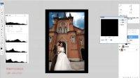 黄健讲PS,实用的调色系列——第一讲调色-教堂下的浪漫