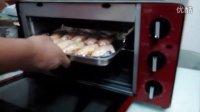 烤箱烤鸡翅过程初体验