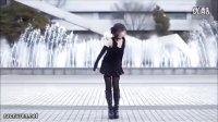 日本美女萝莉喷泉前热舞自拍