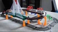 大型双层声光轨道车 电动 轨道车儿童玩具 益智玩具 6岁以上