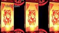 vj素材 LED素材 视频素材 影视素材 婚庆 晚会 酒吧 背景素材 福字灯