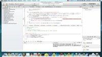 iOS视频教程:10-11.数据库建模与注册登陆页面2