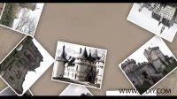 [AE模板]相片载着回忆一张张落下展示模板