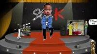 Flash动画歌舞《江南 Style》小孙子的搞笑视频!