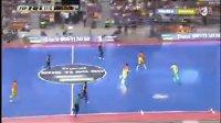 [上半场] 巴萨球员参加室内足球赛,瓜迪奥拉队VS维拉诺瓦队