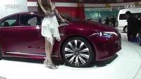 北京国际车展手机现场自拍漂亮美女车模视频9