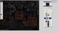 15.GA游戏教育-次世代游戏美术教程 游戏场景建模教程:雷爆突击枪颜色调整