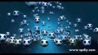 [AE模板]可动感的足球主题文字光效模板