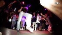 俄罗斯曳步舞 国外夜店大型墨尔本曳步舞(鬼步舞)shuffle聚会