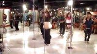 【优酷直播】上海酒吧领舞钢管舞视频KTT