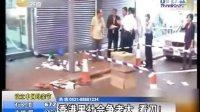 香港九龙黑社会当街砍人