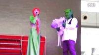 2012哈尔滨国际动漫周熊爪网可人求婚及友人祝福