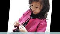 2012秋装新款女童韩版加厚水洗皮衣 短款软皮外套夹克 刷钻特惠