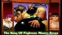拳皇97初见解说帮主VS老K 一代宗师大战顶级八猪门,超激烈!