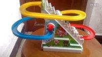 儿童电动玩具喜羊羊喜洋洋爬楼梯旋转轨道狼追羊
