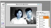 [PS]Photoshop个性照片设计教程-039. 人物头像的拼接