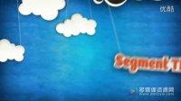 卡通云朵跳动 云服务宣传 AE模板