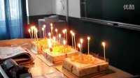 大章鱼给我们过生日,斥巨资买了3个芒果慕斯蛋糕!!