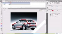 传智播客-网页平面设计学院-张鹏 带你轻松学习flash动画制作 第25讲 汽车广告动画