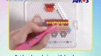 【友团教程】韩国进口 阿摩司Amos 玻璃珠子拼图创意玩具