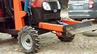 拖拉机挖坑机电线杆挖坑机大海机械<http:www.wakengjixie.com>带支护系统