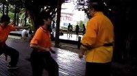 八極拳-20120923週日格鬥八極拳班教學片段分享之小纏絲手法的擴大運用示範