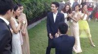 喜上加喜:泰国异性婚礼出现同性恋人求婚