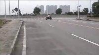 无锡新世纪车行200CC劲彪三代摩托车跑车试车视频