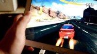 三星 galaxy note10.1 2014版运行狂野飙车8视频