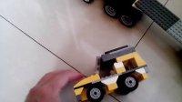 乐高玩具拼的车