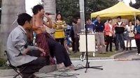 广州街头流浪歌手阿龙演绎谭咏麟 梅艳芳 陈慧闲的歌曲 美 高清图片