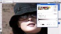 [PS]Photoshop 数码照片处理教程-102处理眼镜反光