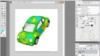 PS PS教程 PS学习 PS抠图 PS合成 PS CS6教程集合 3D汽车模型涂鸦