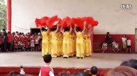石桥营女子健身队扇子舞欢聚一堂 高清(1)