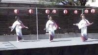 加拿大美少女表演日本传统舞蹈