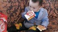 宝贝儿子12个月-牛奶+面包 集锦