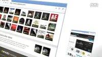 AE模板—网页展示