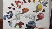 油画 色彩  写生 绘画基础教程
