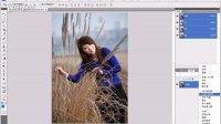 "[PS]Photoshop 数码照片处理教程-089""纯色""填充图层"