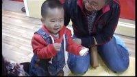 红黄蓝延安博睿亲子园中秋社会课之我们自己做月饼