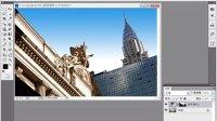 7.3.2 PS教程_PS视频_用渐变填充图层制作蔚蓝晴空