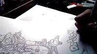 看日本漫画家鸟山明如何绘画七龙珠漫画