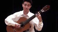 上海青年吉他演奏家闵振奇演奏的《巴登爵士》