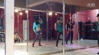 合肥防空洞钢管舞健身中心爵士教练班学员店庆表演 QQ:2529313831