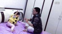 儿童家庭暴力,父女之战!三岁女童搞笑被虐!