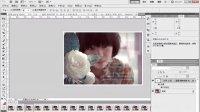 [PS]photoshop cs5视频教程_蒙版羽化技术制作流光,渐隐等QQ空间流行文字效果3