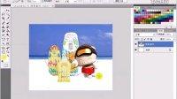 [PS]photoshop ps抠图教程3.14  选项栏中【羽化】功能的使用.