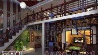 复古中式茶楼装修设计案例效果图欣赏—紫云轩中式设计机构